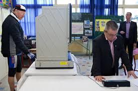 bureau de vote dunkerque la route des dunes un une ée en par