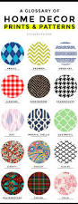 common home decor prints and patterns a complete glossary