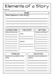 freebie story elements graphic organizer best of tpt reading