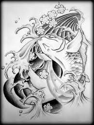 amazing of japanese tattoos especially koi fish with