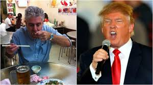 resident trump anthony bourdain dreams of making fun of trump over a steak lunch