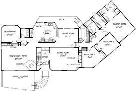 split level floor plan split level house plans 1980s home design and decor ideas inside