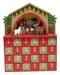wood advent calendar wooden nativity advent calendar co uk toys