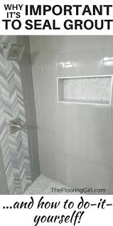 How To Get Bathroom Grout White Again - why it u0027s important to seal your grout and how to do it yourself