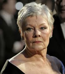 judi dench hairstyle front and back of head judi dench hairstyles trendy hairstyles