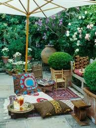 Backyard Rooms Ideas Triyae Com U003d Bohemian Backyard Decor Various Design Inspiration
