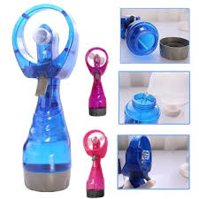 handheld misting fan harga portable handheld mini fan mute battery operated for