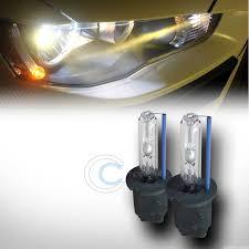 hid fog light ballast 6000k hid xenon h3 driving fog lights lamps bulbs pair conversion