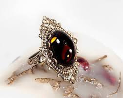 gothic ruby rings images Victorian ring etsy jpg