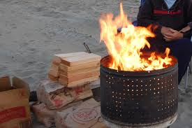 Washing Machine Firepit Best Portable Pit Cing And Fishing California