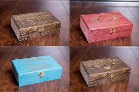 Keepsake Box Personalized Custom Memory Box Small Rustic Wooden Keepsake Box Personalized