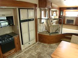 5th wheel with living room in front magnificent front living room fifth wheel with iron fence used in