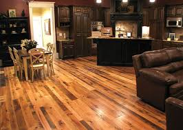 reclaimed and textured flooring