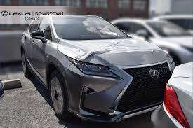 lexus rx inventory new vehicle inventory lexus downtown