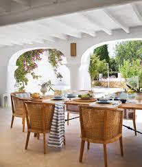 coastal decor and traditional architecture under mediterranean