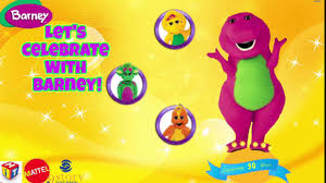 let u0027s celebrate with barney youtube