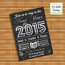New Years Eve Decorations Printables by 25 Best New Year Invitations Images On Pinterest Party