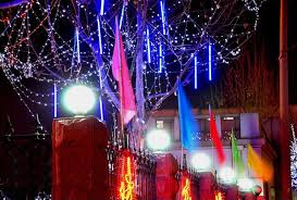 wondrous ideas shooting star christmas lights outdoor excellent