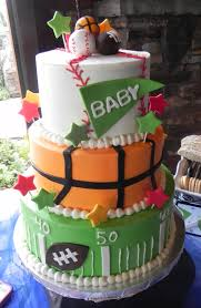 sports themed baby shower daddy cakes bakery fort collins co