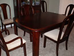 Square Wood Dining Tables Dining Room Square Dining Room Table Pads In Brown Made Of Vinyl