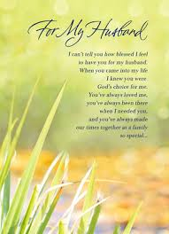 card for husband a blessing of a husband s day card cardstore