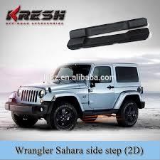 jeep wrangler side steps for sale sale wrangler jk black 4 door side and tubular
