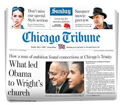 Chicago Tribune News Desk The Chicago Tribune Is A Major Daily Newspaper Based In Chicago