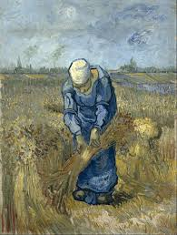 file vincent van gogh peasant woman binding sheaves after