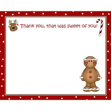 christmas thank you cards artfire markets