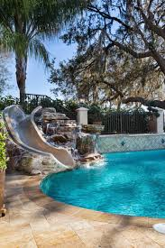 Where To Put A Pool In Your Backyard Best 25 Swimming Pool Slides Ideas On Pinterest Pool With Slide