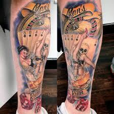 rebel muse tattoo tattoos daniel brockett man u0027s ruin leg piece