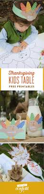 thanksgiving table free printables just add confetti