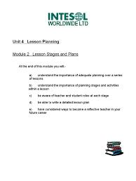 unit4 mod2 lesson plan teachers