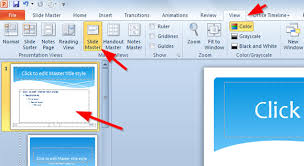 how to insert template in powerpoint to add slide numbers to a