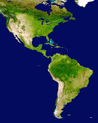 Map Of South And Central America History Of The Americas Wikipedia