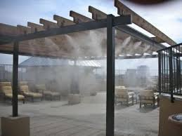 climate veil patio misting system direct pool supplies