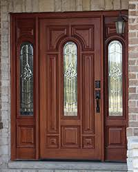 Solid Exterior Doors Exterior Doors With Sidelights Solid Mahogany Entry Doors