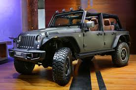 jeep wrangler matte black 2015 jeep wrangler unlimited rubicon u201cstealth u201d show car storms france