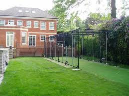 concertina cricket net from dem sports