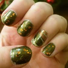 picture 4 of 10 easy cute thanksgiving nail designs photo