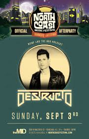 official ncmf after party destructo u2013 tickets u2013 the mid u2013 chicago
