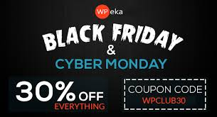 black friday coupon codes black friday cyber monday wordpress deals