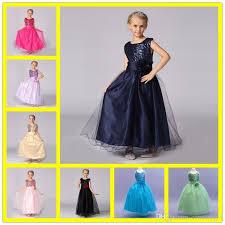 cheap dress kids design beads free shipping dress kids design