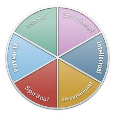 six dimensions of wellness created by may smith objectives define