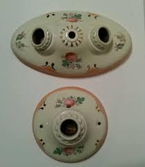 antique porcelain light fixture vintage porcelain ceiling light fixture sconce art deco porcelier