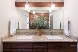 Bathroom  Mid Century Bathroom Ideas Modern Ceiling Light Light - Awesome black bathroom vanity with sink property