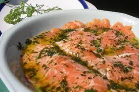cuisiner le saumon recette de saumon mariné la recette facile