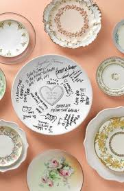 plate guest book diy wedding guest book plate sharpie bridal showers and wedding