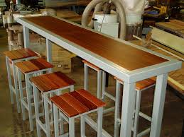 Narrow Pub Tables With Stools Narrow Tall Style Of Bar Timbers - Kitchen bar tables