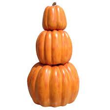 26 5 in h harvest stackable pumpkins mt1019 the home depot